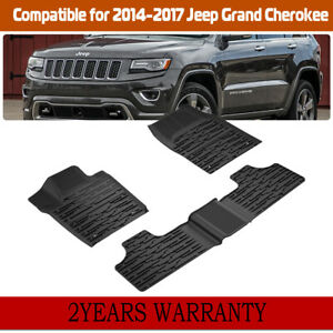 Front Floor Mat Liners For Jeep Grand Cherokee 2014 2017 12920 28