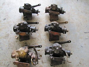 Jeep Cj Power Steering Gear Boxes W Brackets And Pitman Arm Oem Cj5cj7