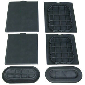 New Oem 15 20 Ford F150 Super Duty Bed Liner Hole Plug Cleat Cover Trim Kit