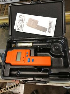 Delmhorst Bd 2100 Digital Moisture Meter With Case