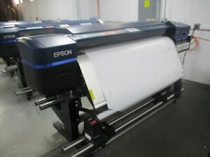 Epson Surecolor S80600 Wide Format Printer Used