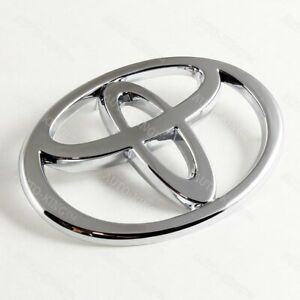 Chrome Front Grille Emblem For 2002 2004 Toyota Camry 2002 2009 Toyota Matrix