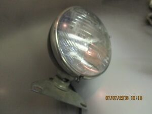 Antique Vintage Headlight Grote 6407 Sae h 75 Westinghouse Lens