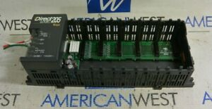 Automation Direct D2 06b 1 Plc Rack Direct Logic 205
