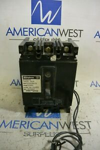 Eb3050 Westinghouse 50 Amp 3 Pole 240v Breaker With 120v Shunt Trip Rh Tested