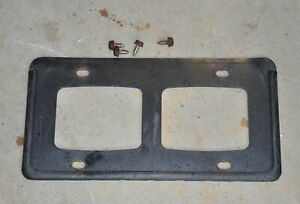 2001 Honda Civic Ex Coupe Front License Plate Mounting Frame Oem Honda Frame