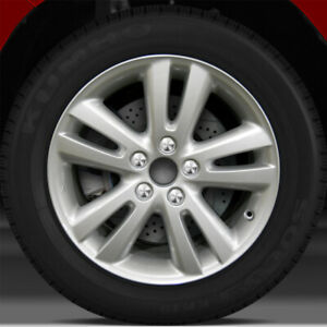 17x6 5 Factory Wheel Bright Fine Silver For 2005 2007 Toyota Highlander