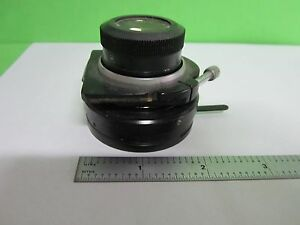 Microscope Part Vickers England Lwd Substage Condenser Optics As Is Bin t1 48