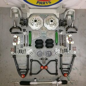 47 54 Chevy Truck Mustang Ii Ifs Airbag 2 Drop 5x4 75 Power Lhd Rack Basic Kit