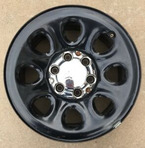 1 2007 2014 Chevy Tahoe Ppv Police Cop 17 Oem Black Wheel Rim Gm 9596468