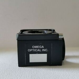 18mm Omega Optical Nikon Diaphot Filter Cube Without Excitation Retaining Ring