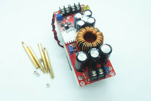 Dc Boost Step up Converter 1500w 30a Power Supply Module In 10 60v Out 12 90v