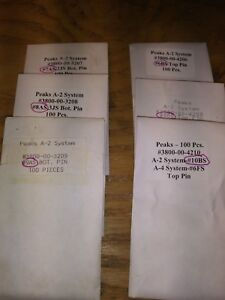 Best kaba peaks Security Sfic Pins 100 Pk Upgrade Your Cores 6 Pack 1 Of Each