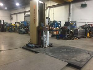 Muller Lp 800 Pallet Stretch Wrap Machine With Ramp 120v Video Available