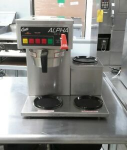 Used Curtis Alp3dsr12a000 3 Warmer Coffee Brewer For Decanters