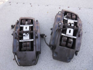 2004 2010 Vw Audi Porsche Touareg Brembo 17z Front Brake Calipers 6 Piston Set