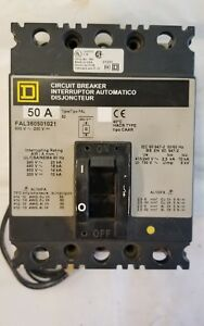 Fal360501021 Square D 50 Amp Circuit Breaker With Shunt