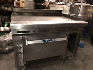 Imperial Ihr g48 48 Range W 48 Griddle Standard Oven Cabinet Features