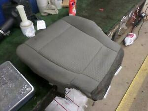 15 16 17 Ford F150 Left Front Driver Seat Bottom Cushion Heated Cloth Gray Mg