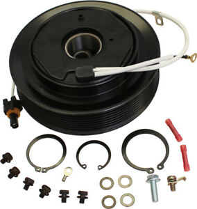 Re52508 A c Compressor Clutch And Pulley For John Deere 5225 5325 Tractors