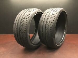 Pirelli P Zero N2 235 35 19 87 Y Used Tire Tires 7 32nd 70 Pair Set