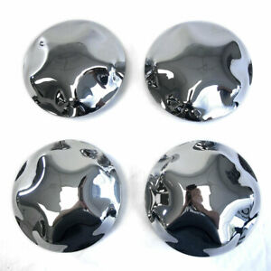 17 Chrome Wheel Center Hub Caps Lug Nut Covers For 97 2004 Ford Expedition F150