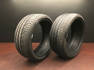 Pirelli P Zero N2 235 35 19 91 Y Used Tire Tires 7 32nd 70 Pair Set