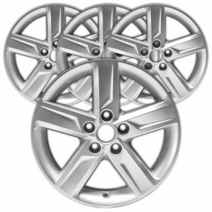 17 Silver 5 Spoke Rim By Jte For 2012 2014 Toyota Camry 17x7 Set Of 4