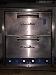 Bakers Pride Model P 44 Table Top Double Stack Pizza Oven