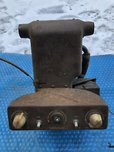Vtg Ford Heater Box 1930s Chevy Dash Rat Rod Controls Art Deco Buick Original