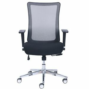Wellness By Design Mesh Task conference Chair Supports Up To 275 Lbs Black