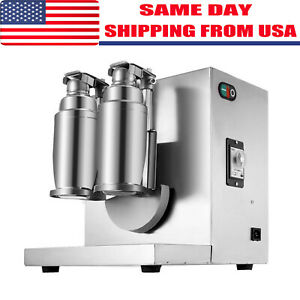 Bubble Boba Milk Tea Shaker Shaking Machine Mixer Auto Control Cream Stainless