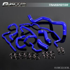 Silicone Radiator Coolant Hose Kit For 99 06 Volkswagen Golf 1 8t Mk4 Blue