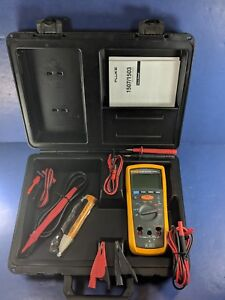 Fluke 1507 Insulation Tester Excellent Calibrated 8 27 19 Case