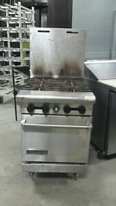 Used 24 American Range 4 burner Natural Gas Range