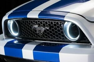 Oracle 2010 2013 Mustang White Led Halo Kit For Grille Style Fog Light 1334 001