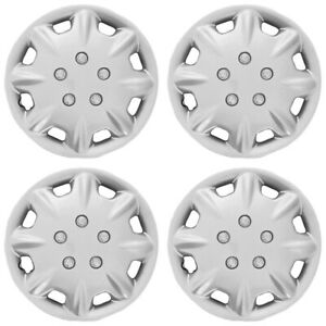15 Push on Silver Wheel Cover Hubcaps For 1996 1997 Honda Accord