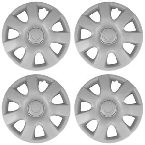 15 Push on Silver Wheel Cover Hubcaps For 2002 2004 Toyota Camry