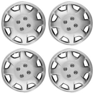 15 Push On Silver Wheel Cover Hubcaps For 1998 2002 Honda Accord