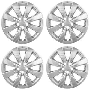 4 New 16 Hub Caps Full Set Wheel Covers Fit Steel Rims For 2009 2019 Toyota Cor