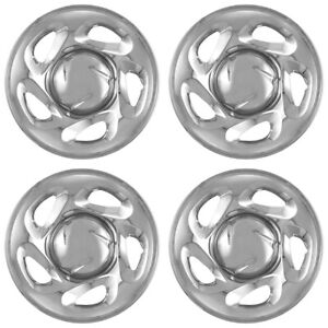 4 Chrome 16 Wheel Skins Hub Caps Rim Covers Wheels For 01 07 Toyota Tundra Sequ