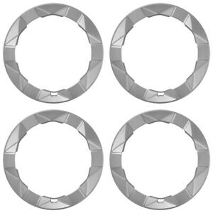 Set Of 4 Prius 15 Alloy Wheel Trim Rings Beauty Rims Cover 6 Spoke 5 Lug Wheels
