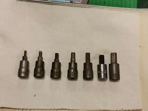 Usa Made Mac Hex Socket Set 4 10mm