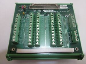 National Instruments Tbx 68 Terminal Pc Board Terminal Block On Din Rail
