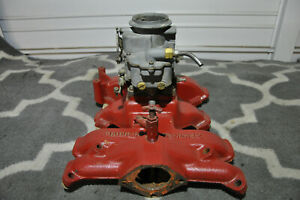 1954 To 1960 Ford Y Block Engine Parts Intake Manifold 2 Bbl