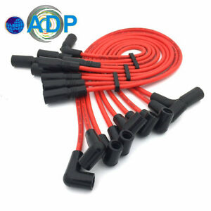Spark Plug Ignition Wires Fit For Chevy Suburban Express Van Tahoe 1995 2005