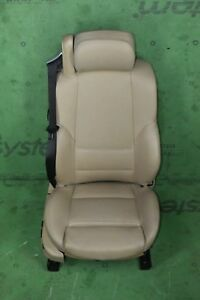 Bmw E46 Front Right Passenger Side Electric Sport Seat Chair Tan Complete Oem