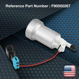 High Performance Racing 450lph Electric Fuel Pump W Install Kit E85 F90000267
