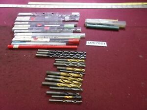 Reconditioned Used Carbide Drill Lot Of 32 Titex Walter Guehring Loc7021