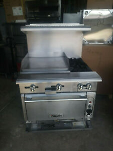 V2bg24c And V4b36c Vulcan Ranges With Convection Oven Includes Free Shipp